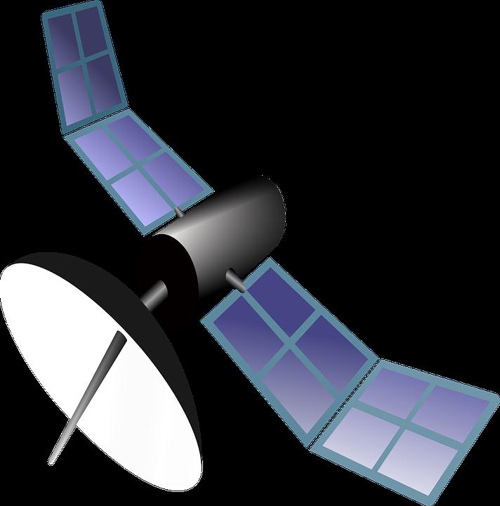 Satellite Orbit Gps · Free Vector Graphic On Pixabay
