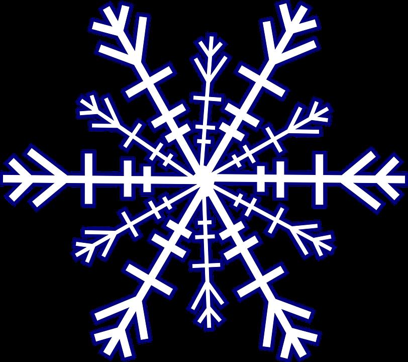 Populaire Image vectorielle gratuite: Flocon De Neige, Hiver, Froid - Image  WL64