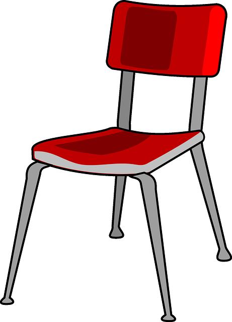 Stuhl Rot Metall · Kostenlose Vektorgrafik Auf Pixabay