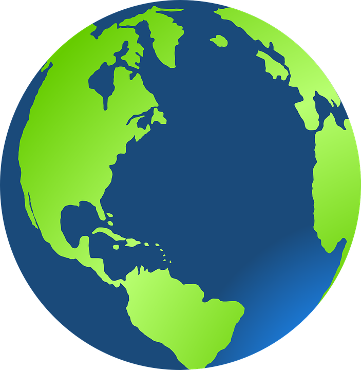 globe earth green free vector graphic on pixabay