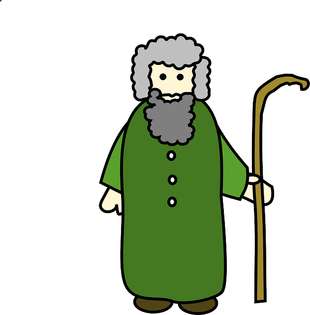 Shepard Old Man 183 Free Vector Graphic On Pixabay