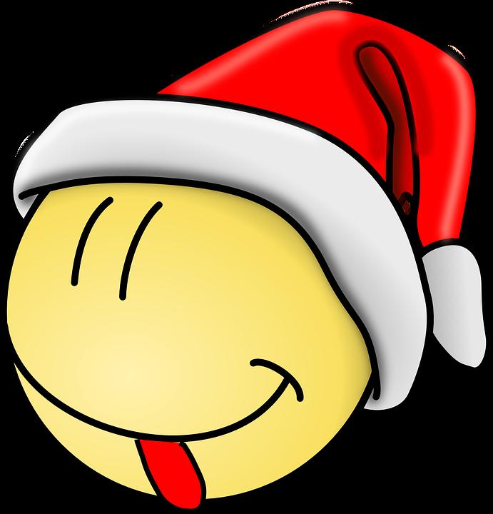 Smiley Santa Zunge · Kostenlose Vektorgrafik auf Pixabay