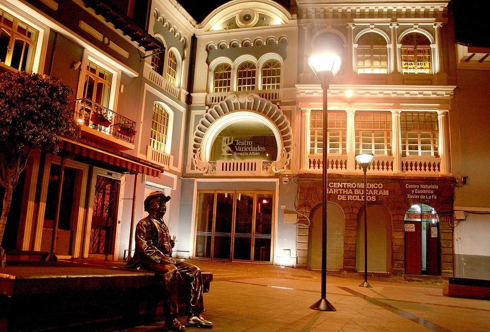 Quito Equateur, Plaza Del Teatro, Centre Historique