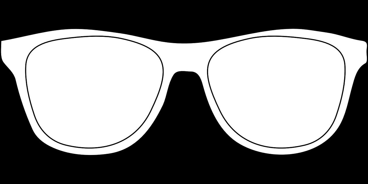 Как нарисовать очки