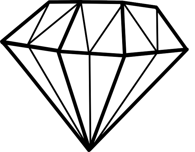 Diamond Chrystal Gem · Free Vector Graphic On Pixabay