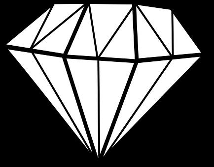 Diamant Chrystal Gem Blanc Bijou Diamant D