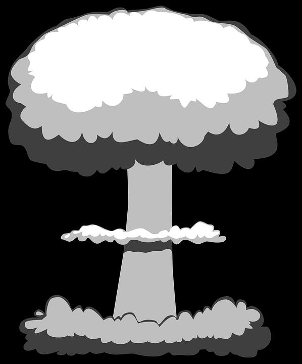image vectorielle gratuite explosion  nucl u00e9aire  blast Exploding Bomb Clip Art Nuclear Explosion Clip Art