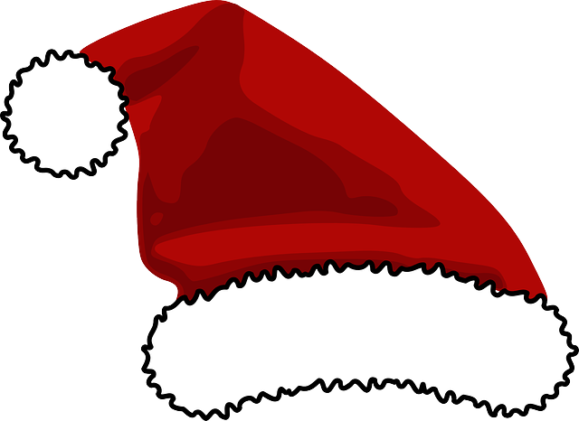 santa hat clipart with transparent background - photo #30