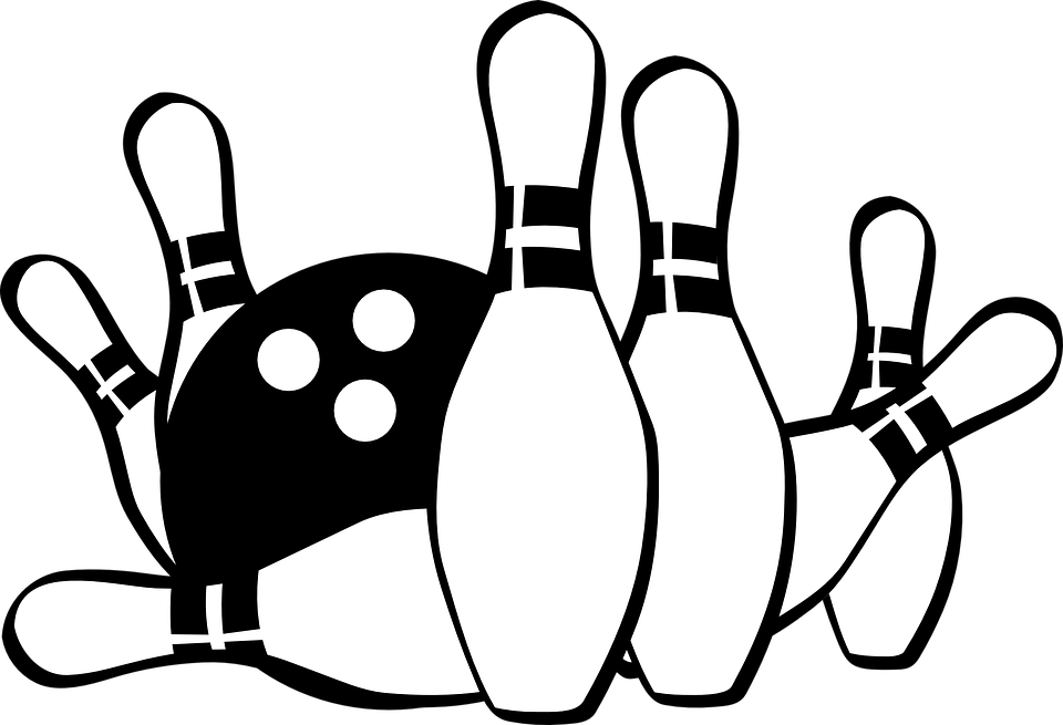 Ball Bowling Pins Free Vector Graphic On Pixabay