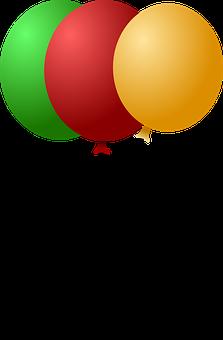 Воздушные Шары, Празднование, Зеленый