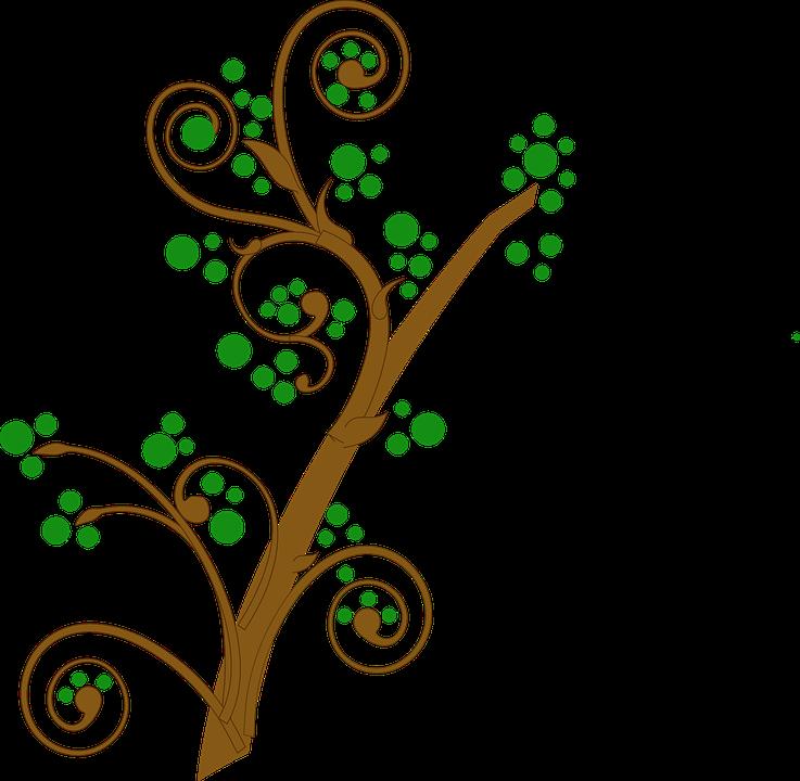 Rama Verde Remolina · Gráficos vectoriales gratis en Pixabay