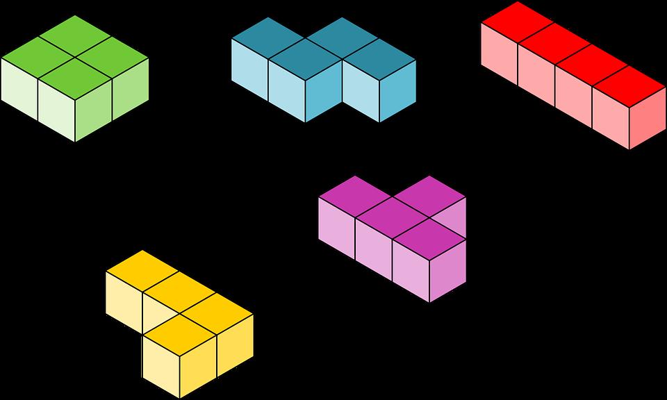 tetris blocks building free vector graphic on pixabay