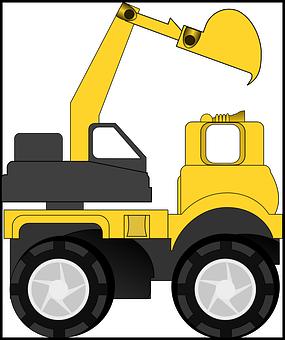 Heavy Machinery, Truck, Construction