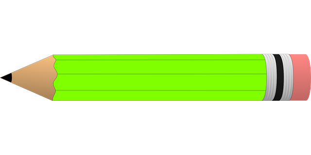 Pencil Green Eraser · Free vector graphic on Pixabay