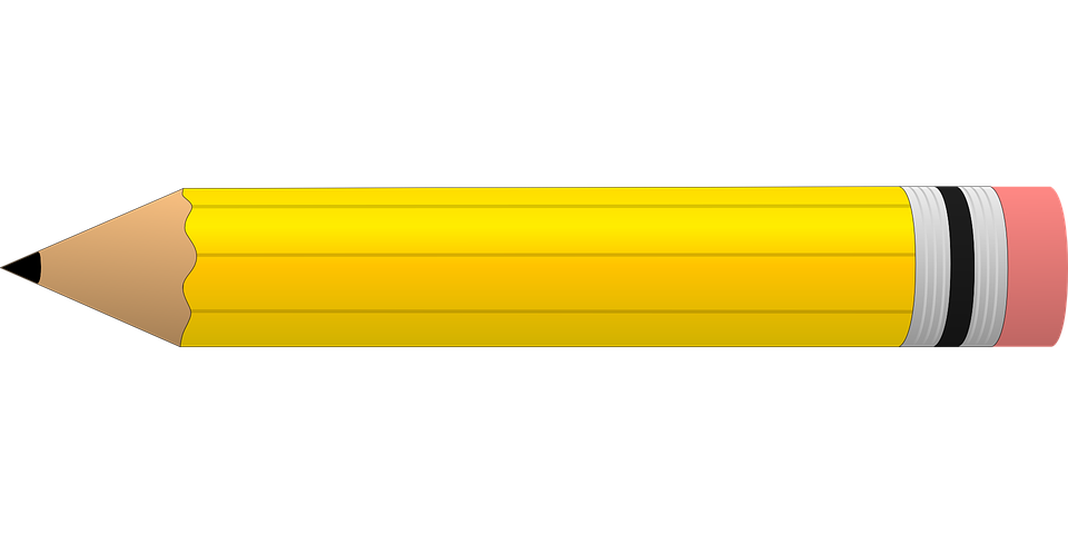 Free Vector Graphic Pencil Yellow Eraser Write Free