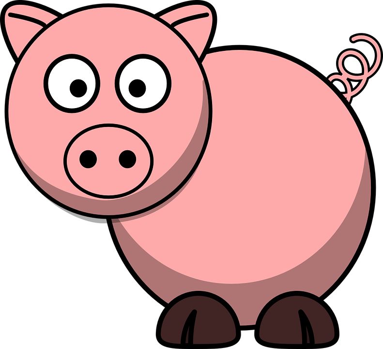 pig animal farm free vector graphic on pixabay rh pixabay com free clipart of cartoon pigs free clipart of pigeons