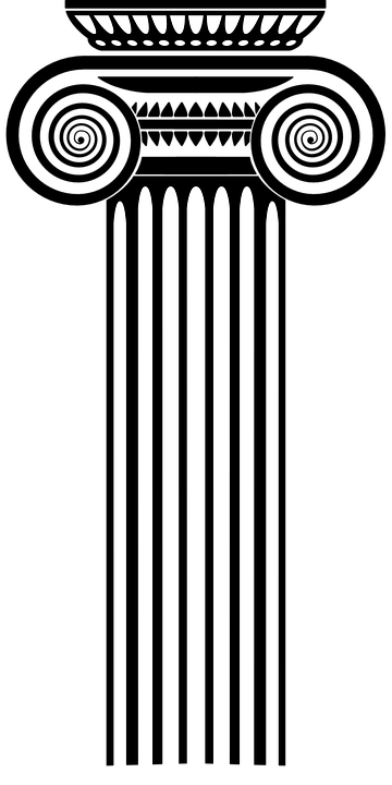 Pillar Clip Art : Free vector graphic pillar roman column ancient