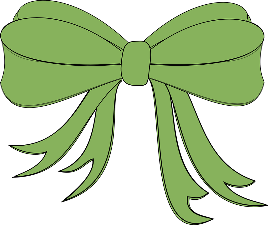 ribbon bow gift free vector graphic on pixabay