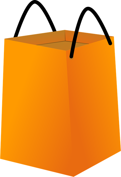 Free vector graphic: Shopping Bag, Orange, Empty, Big - Free Image ...
