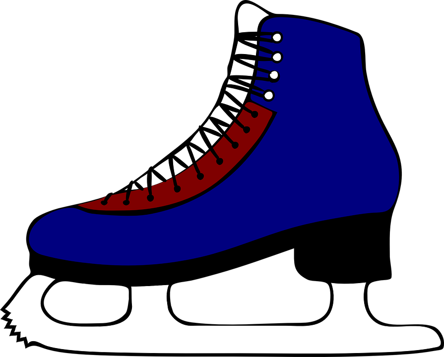 Clip Art Ice Skates Clipart ice skating free images on pixabay skates skates