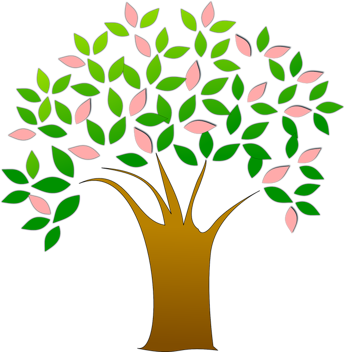 Tree Fresh Leaves - Free vector graphic on Pixabay