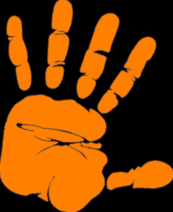 hand print palm free vector graphic on pixabay rh pixabay com free clipart hand drawn free clipart hand washing