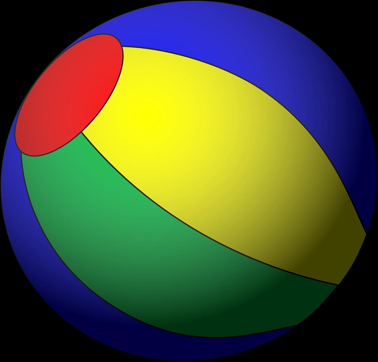 Картинки мячик детские