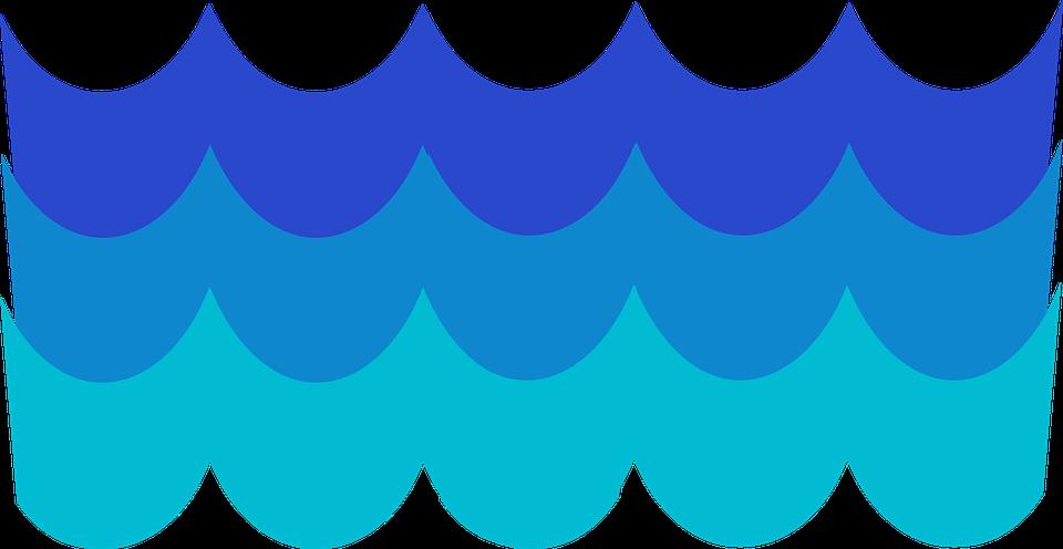 waves pattern blue free vector graphic on pixabay rh pixabay com Cross Clip Art Fisherman Clip Art