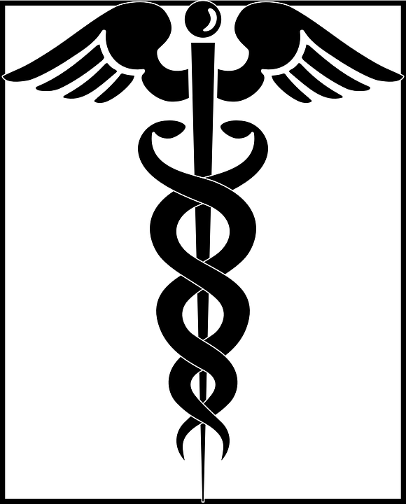 Aesulapian Staff Rod Of Asclepius Free Vector Graphic On Pixabay