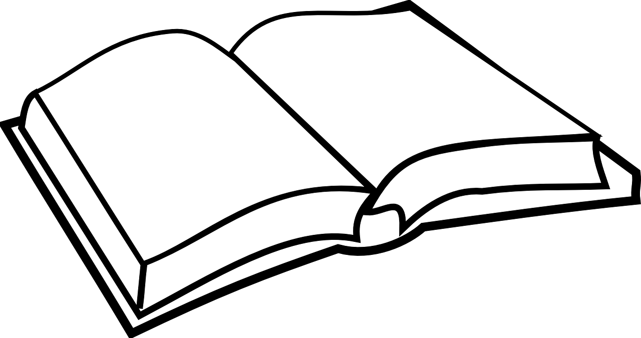 Book Open Empty Free Vector Graphic On Pixabay
