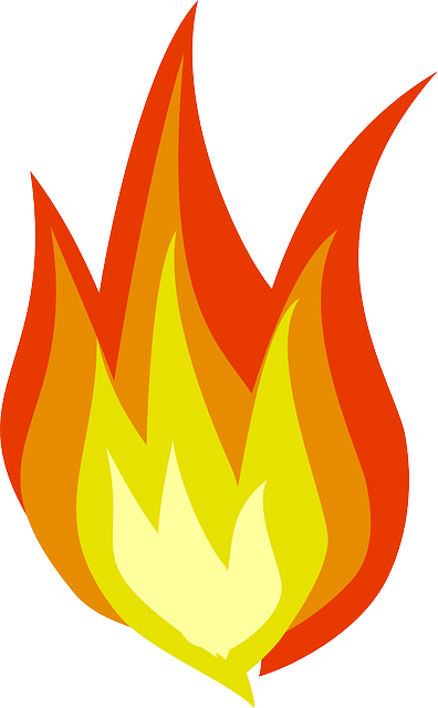 kostenlose vektorgrafik feuer flamme w228rme gefahr rot