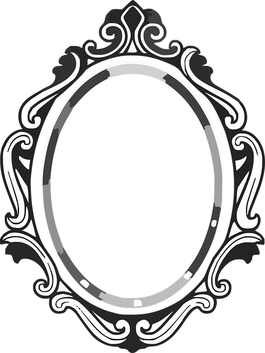 Free vector graphic: Frame, Mirror, Picture, Baroque ...