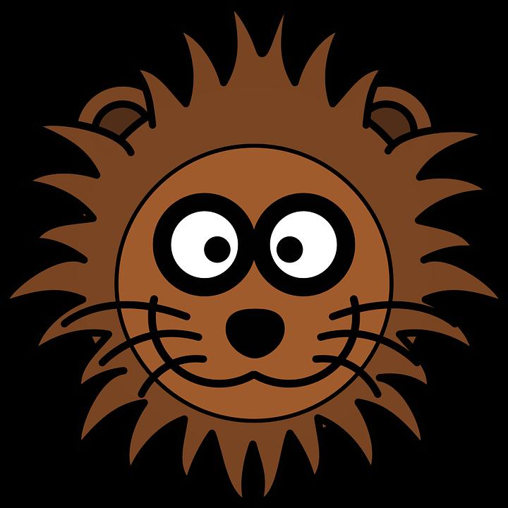 free vector graphic lion  head  cat  mane  grinning yak clip art free yak cip art