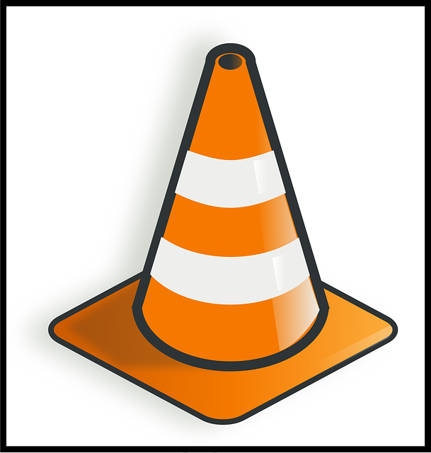 traffic cone warning free vector graphic on pixabay