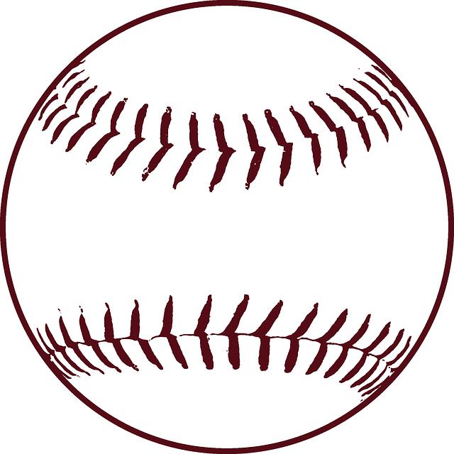 Free vector graphic: Baseball, Stitches, Softball, Ball - Free ...