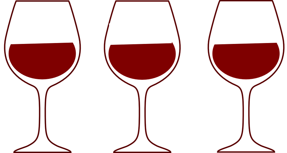 wine glasses red free vector graphic on pixabay rh pixabay com Elegant Wine Glass Clip Art wine glass clip art free sayings