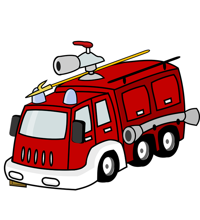 Feuerwehrauto Rot Notfall Kostenlose Vektorgrafik Auf Pixabay