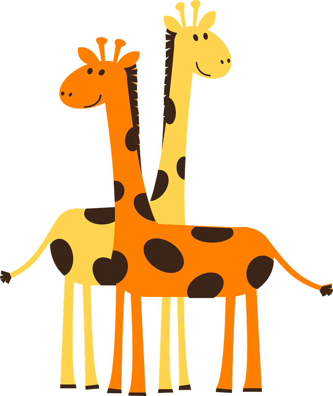 Картинки жирафа для детей нарисованные, днем рождения сестре
