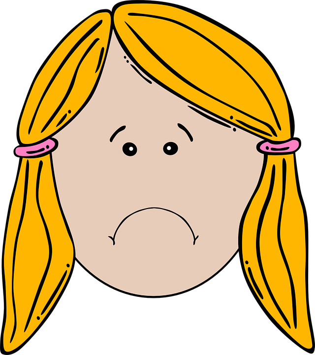 girl face unhappy free vector graphic on pixabay rh pixabay com vector facebook game vector face game