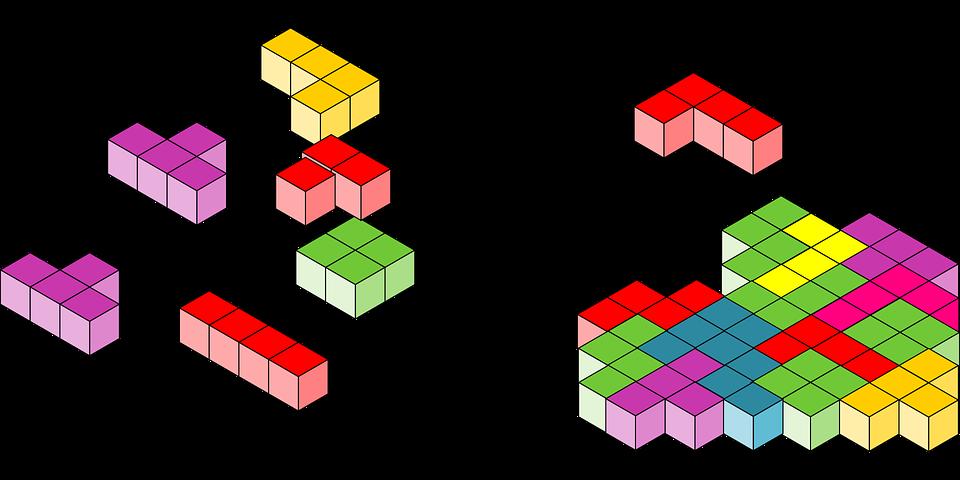 Tetris Bloques Rompecabezas Graficos Vectoriales Gratis En Pixabay