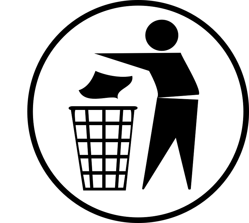 Trashcan Man Garbage Free Vector Graphic On Pixabay
