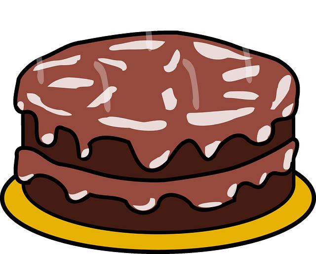 Kuchen Schokolade Zuckerguss Kostenlose Vektorgrafik Auf Pixabay