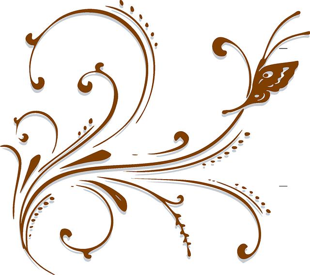 Antique Scroll Art: Scroll Design Retro · Free Vector Graphic On Pixabay