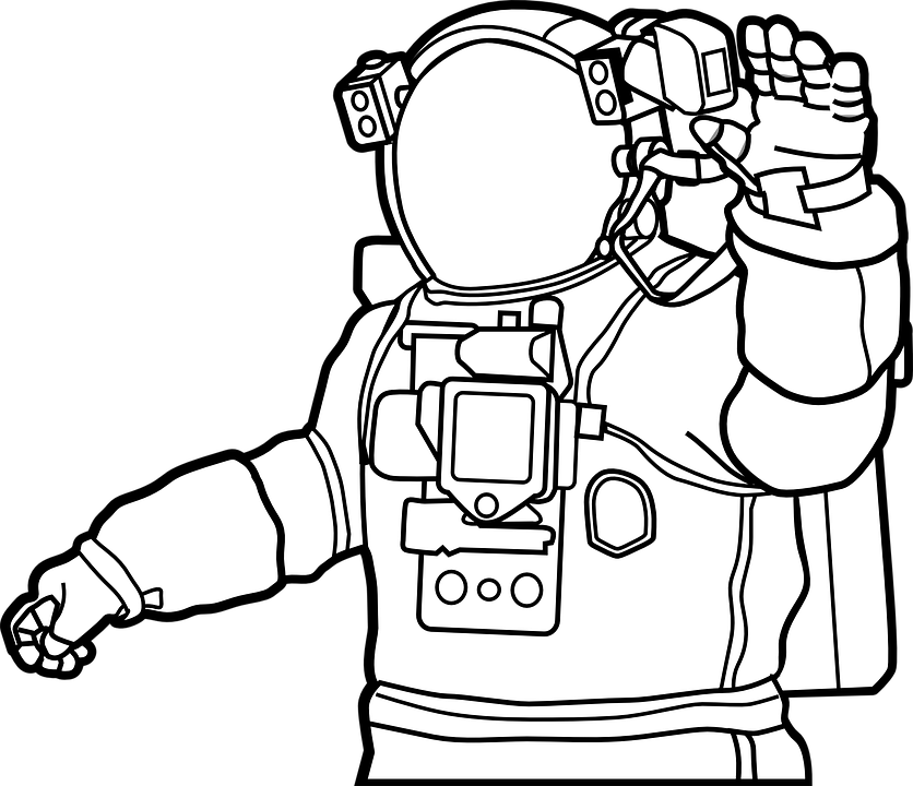 Space Suit Astronaut Helmet 309023 on odst in cartoon