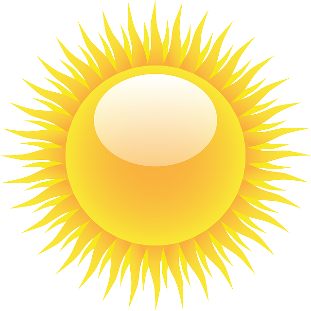 free vector graphic sun rays light summer sunlight