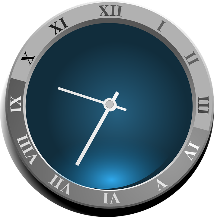 Free Vector Graphic Clock Roman Numerals Time Roman