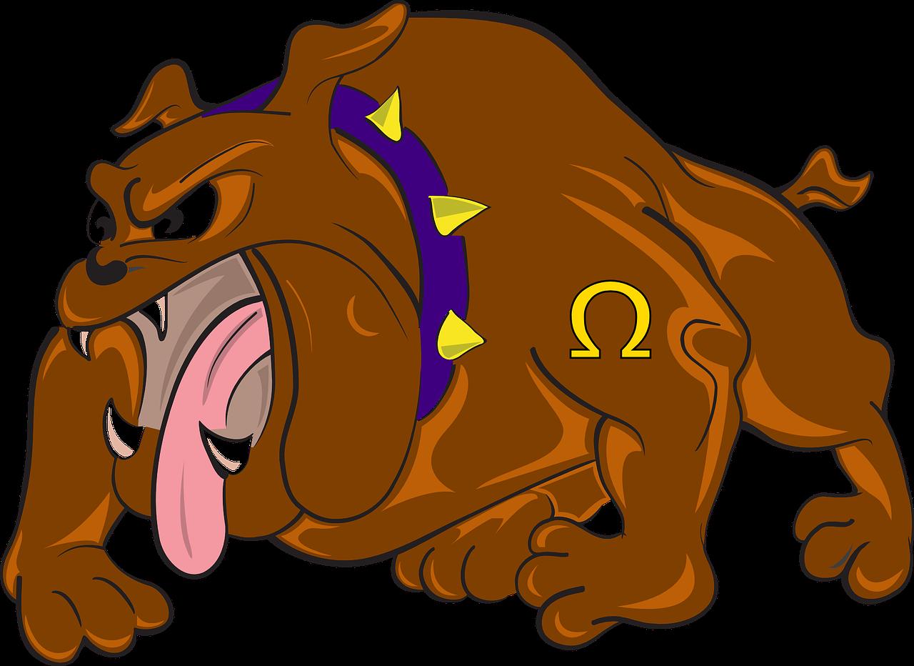 Buldog Kartun Marah Gambar Vektor Gratis Di Pixabay