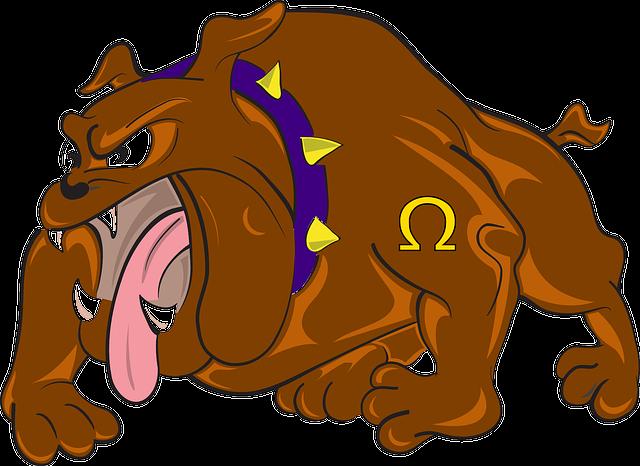 Free Vector Graphic: Bulldog, Cartoon, Angry, Dog