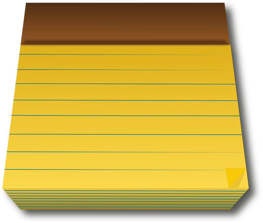Legal pad yellow paper free vector graphic on pixabay legal pad yellow paper blank office business note maxwellsz