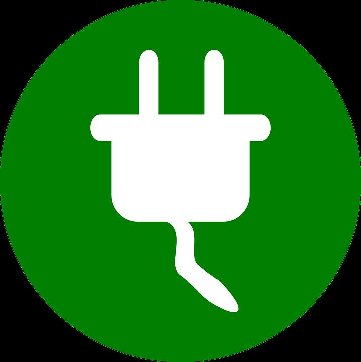 Power Plug Symbol Icon Energy Electric